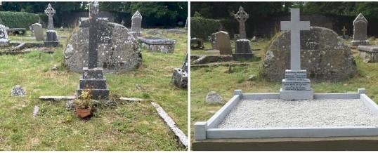 Recent Grave Restoration